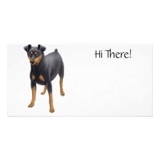 Miniature Pinscher Photo Card