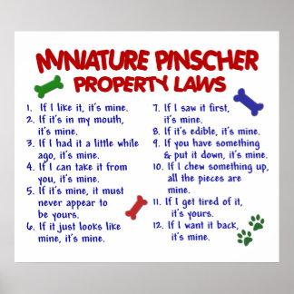 MINIATURE PINSCHER PL2 POSTER