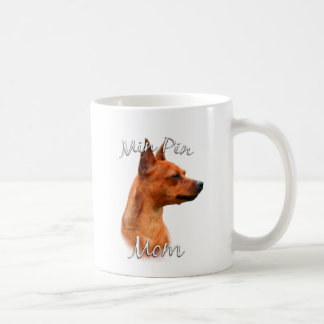 Miniature Pinscher (rust) Mom 2 Coffee Mug