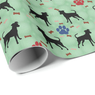 Miniature Pinscher Shadow Wrapping Paper