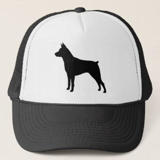 Miniature Pinscher Silhouette Trucker Hat