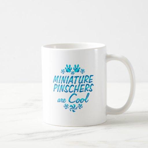 Miniature Pinschers are Cool Classic White Coffee Mug
