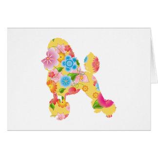 Miniature Poodle Card