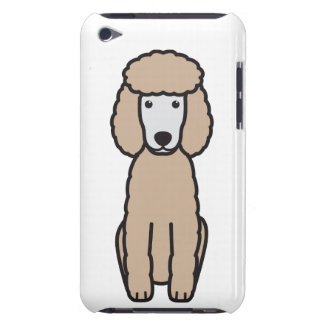 Miniature Poodle Dog Cartoon Case-Mate iPod Touch Case
