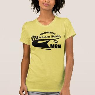 Miniature Poodle Mom T Shirt