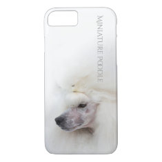 Miniature Poodle Phone Case