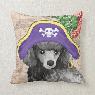 Miniature Poodle Pirate Pillows