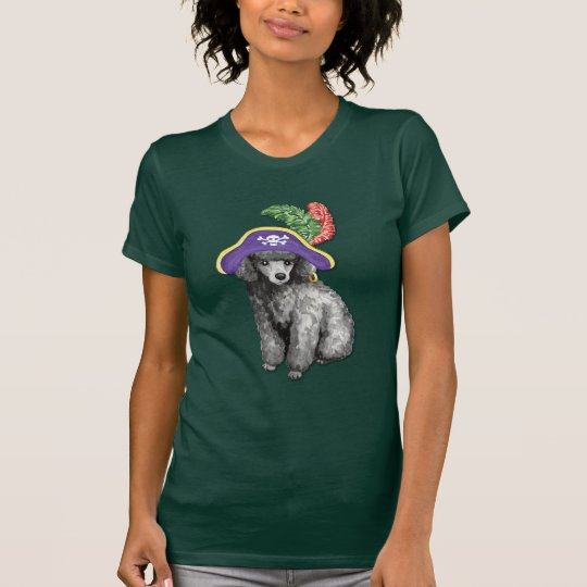 Miniature Poodle Pirate T-Shirt