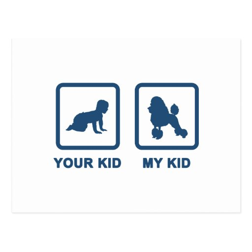 Miniature Poodle Post Cards