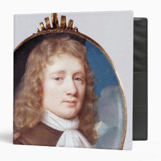 Miniature portrait of an Unknown Man, 1659 Binder