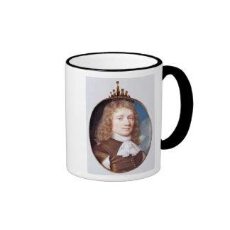 Miniature portrait of an Unknown Man, 1659 Coffee Mug