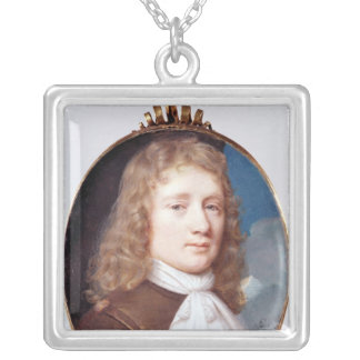 Miniature portrait of an Unknown Man, 1659 Custom Necklace