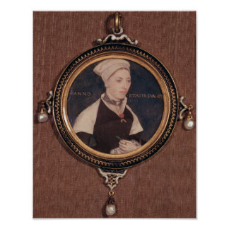 Miniature portrait of Jane Small Poster
