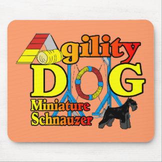 Miniature_Schnauzer_Agility Mouse Pad