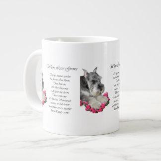 Miniature Schnauzer Art Gifts Large Coffee Mug