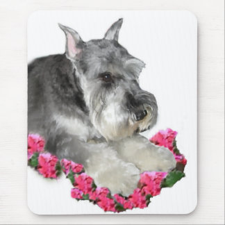 Miniature Schnauzer Art Gifts Mouse Pad