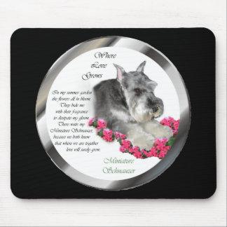 Miniature Schnauzer Art Gifts Mouse Pad