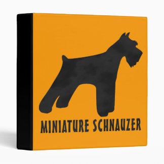 Miniature Schnauzer Binder