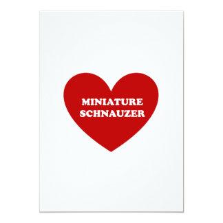 Miniature Schnauzer Card