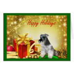 Miniature Schnauzer Christmas Card Gifts