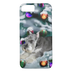 Case-Mate Barely There iPhone 7 Case with Miniature Schnauzer Phone Cases design