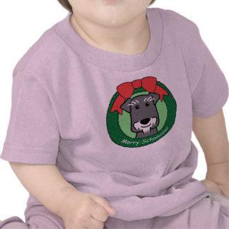 Miniature Schnauzer Christmas Shirt
