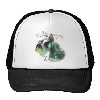 Miniature Schnauzer Dad 2 Trucker Hats