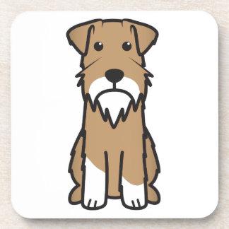 Miniature Schnauzer Dog Cartoon Coaster