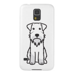 Case-Mate Barely There Samsung Galaxy S5 Case with Miniature Schnauzer Phone Cases design
