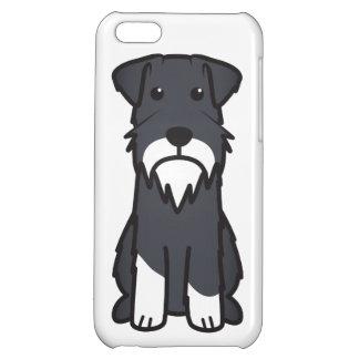 Miniature Schnauzer Dog Cartoon iPhone 5C Cover