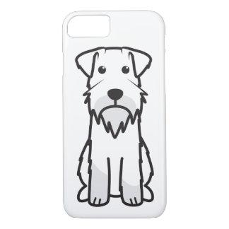 Miniature Schnauzer Dog Cartoon iPhone 7 Case