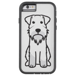 Case-Mate Barely There iPhone 6 Case with Miniature Schnauzer Phone Cases design