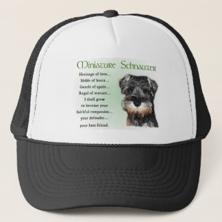 Miniature Schnauzer Gifts Trucker Hat