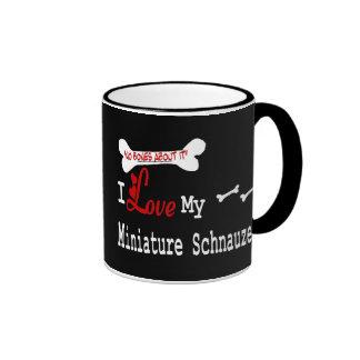 Miniature Schnauzer (I Love) Mug
