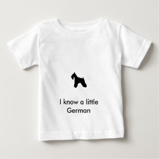 Miniature Schnauzer Infant TShirt