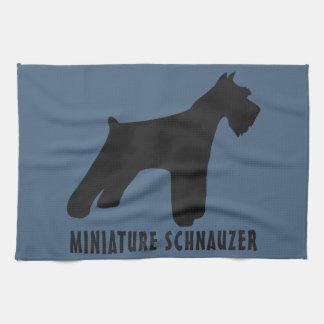 Miniature Schnauzer Towels