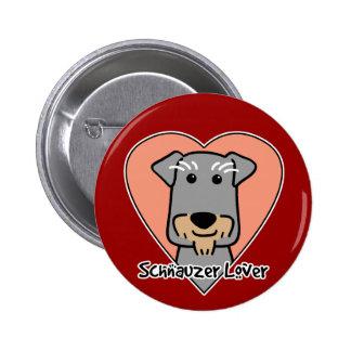 Miniature Schnauzer Lover Pins