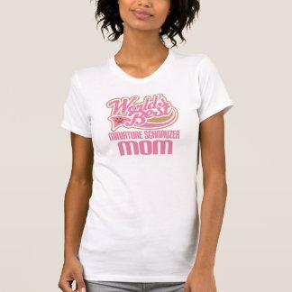 Miniature Schnauzer Mom Dog Breed Gift Tshirt