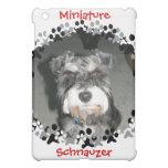 Miniature Schnauzer Photo Cover For The iPad Mini