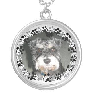 Miniature Schnauzer Photo Custom Jewelry