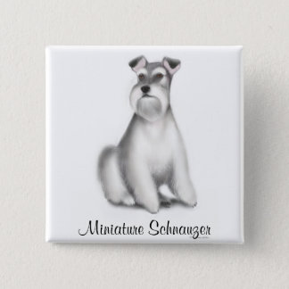 Miniature Schnauzer Pin
