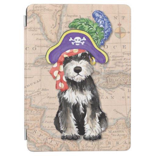 Miniature Schnauzer Pirate iPad Air Cover