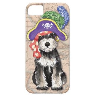 Miniature Schnauzer Pirate iPhone SE/5/5s Case