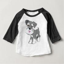 Miniature Schnauzer Puppy Baby T-Shirt