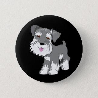 Miniature Schnauzer Puppy Button