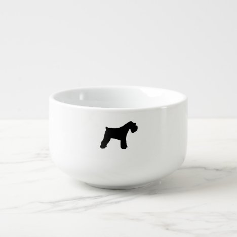 Miniature_Schnauzer silo Soup Mug