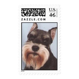 Miniature Schnauzer Stamp