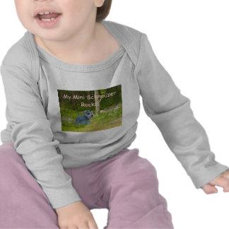 Miniature Schnauzer Todler Long Sleeve T-Shirt