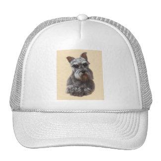 Miniature Schnauzer Trucker Hat
