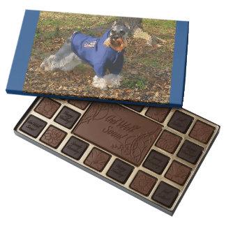Miniature Schnauzer (v9-3) 45 Piece Box Of Chocolates